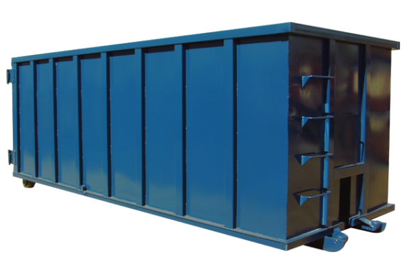 rolloff-dumpster-container-rectangle-blue