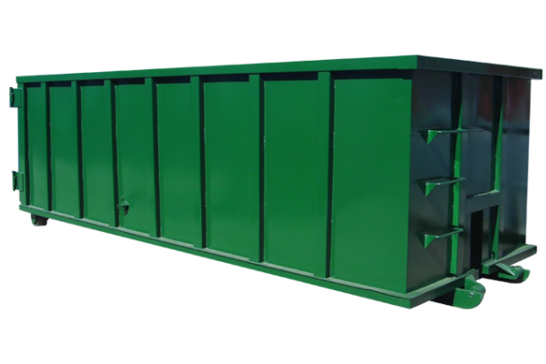 rolloff-dumpster-container-rectangle-green